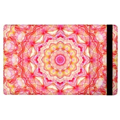 Yellow Pink Romance Apple Ipad 2 Flip Case by Zandiepants