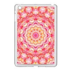Yellow Pink Romance Apple iPad Mini Case (White) by Zandiepants