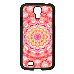 Yellow Pink Romance Samsung Galaxy S4 I9500/ I9505 Case (black) by Zandiepants