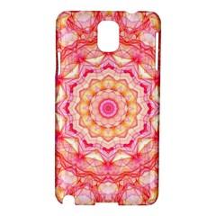 Yellow Pink Romance Samsung Galaxy Note 3 N9005 Hardshell Case by Zandiepants