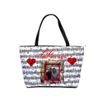 Music shoulder handbag #3 - Classic Shoulder Handbag