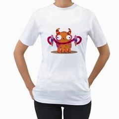 Icrecream Monster Women s T Shirt (white)  by Contest1771913