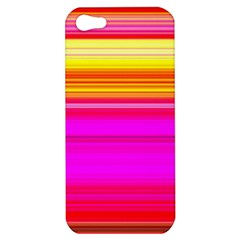 Colour Lines Apple Iphone 5 Hardshell Case by Contest1630871