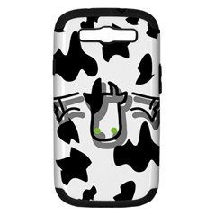 Moo Cow Samsung Galaxy S III Hardshell Case (PC+Silicone) by Contest1623842