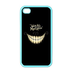 We Are All Mad Here Apple Iphone 4 Case (color) by TheTalkingDead