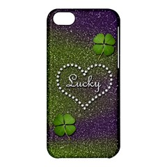 Lucky Girl Apple Iphone 5c Hardshell Case by Contest1673627