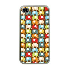 Elefunts! Apple Iphone 4 Case (clear) by Contest1888309