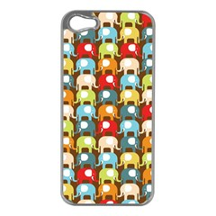 Elefunts! Apple Iphone 5 Case (silver) by Contest1888309