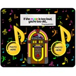music medium music blanket #3 - Fleece Blanket (Medium)