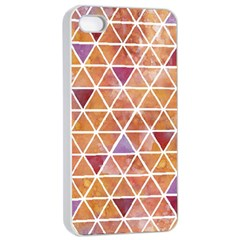 Geometrics Apple iPhone 4/4s Seamless Case (White) by Contest1888309