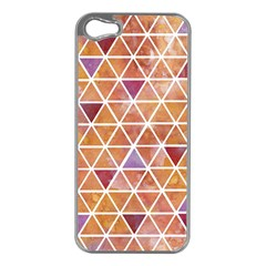 Geometrics Apple Iphone 5 Case (silver) by Contest1888309