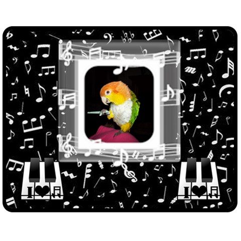 Music Medium Music Blanket #4 By Joy Johns   Fleece Blanket (medium)   Gdco97rn9i4d   Www Artscow Com 60 x50 Blanket Front