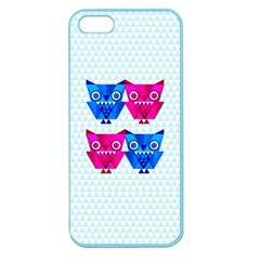 Owligami Apple Seamless Iphone 5 Case (color) by doodlelabel