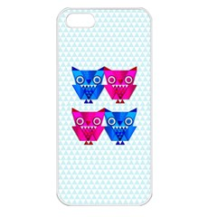 Owligami Apple Iphone 5 Seamless Case (white) by doodlelabel