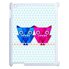 Owligami Apple Ipad 2 Case (white) by doodlelabel