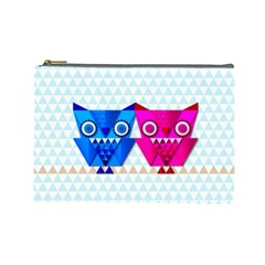 Owligami Cosmetic Bag (large) by doodlelabel