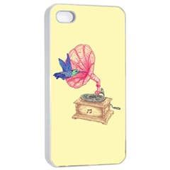 Bird Love Music Apple Iphone 4/4s Seamless Case (white) by Contest1736674