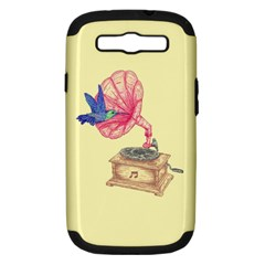 Bird Love Music Samsung Galaxy S Iii Hardshell Case (pc+silicone) by Contest1736674