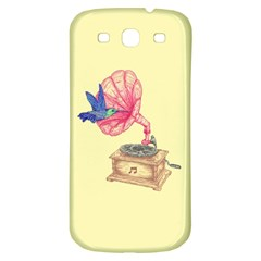 Bird Love Music Samsung Galaxy S3 S Iii Classic Hardshell Back Case by Contest1736674