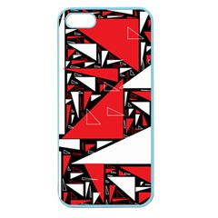 Titillating Triangles Apple Seamless iPhone 5 Case (Color)