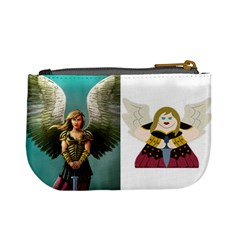 Human + Valkyrie (tek) By Chris Schreiber   Mini Coin Purse   Bymck4w9gksf   Www Artscow Com Back