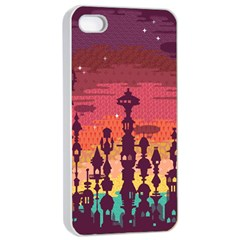 Meet Me After Sunset Apple Iphone 4/4s Seamless Case (white) by Contest1888822
