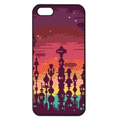 Meet Me After Sunset Apple Iphone 5 Seamless Case (black) by Contest1888822