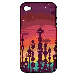 Meet Me After Sunset Apple Iphone 4/4s Hardshell Case (pc+silicone) by Contest1888822