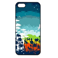 Rainforest City Apple Iphone 5 Seamless Case (black) by Contest1888822