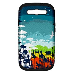 Rainforest City Samsung Galaxy S Iii Hardshell Case (pc+silicone) by Contest1888822