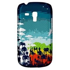 Rainforest City Samsung Galaxy S3 MINI I8190 Hardshell Case by Contest1888822