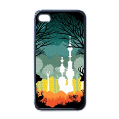 A Discovery In The Forest Apple Iphone 4 Case (black) by Contest1888822
