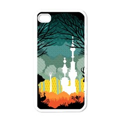 A Discovery In The Forest Apple Iphone 4 Case (white) by Contest1888822
