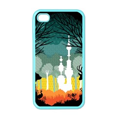 A Discovery In The Forest Apple Iphone 4 Case (color) by Contest1888822