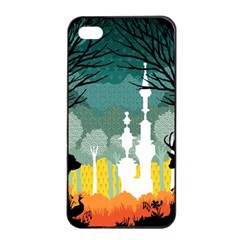 A Discovery In The Forest Apple Iphone 4/4s Seamless Case (black) by Contest1888822