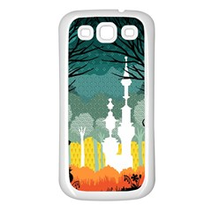 A Discovery In The Forest Samsung Galaxy S3 Back Case (white) by Contest1888822