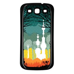 A Discovery In The Forest Samsung Galaxy S3 Back Case (black) by Contest1888822