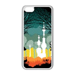 A Discovery in the Forest Apple iPhone 5C Seamless Case (White) by Contest1888822