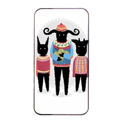 Nightmare Knitting Party Apple Iphone 4/4s Seamless Case (black) by Contest1888822