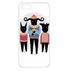 Nightmare Knitting Party Apple Iphone 5 Seamless Case (white) by Contest1888822