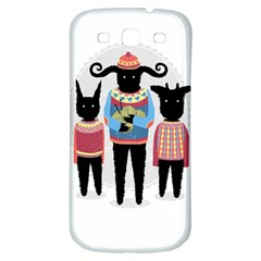 Nightmare Knitting Party Samsung Galaxy S3 S Iii Classic Hardshell Back Case by Contest1888822