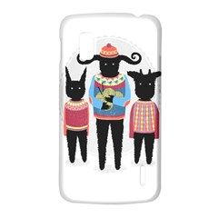 Nightmare Knitting Party Google Nexus 4 (LG E960) Hardshell Case by Contest1888822