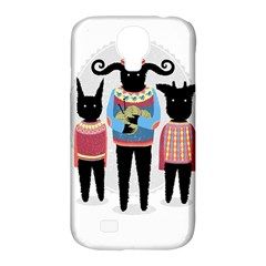 Nightmare Knitting Party Samsung Galaxy S4 Classic Hardshell Case (pc+silicone) by Contest1888822