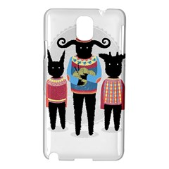 Nightmare Knitting Party Samsung Galaxy Note 3 N9005 Hardshell Case by Contest1888822