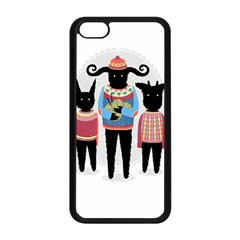 Nightmare Knitting Party Apple Iphone 5c Seamless Case (black) by Contest1888822