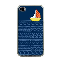 Sail the seven seas Apple iPhone 4 Case (Clear) by Contest1888822