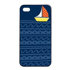 Sail the seven seas Apple iPhone 4/4s Seamless Case (Black) by Contest1888822