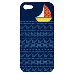 Sail The Seven Seas Apple Iphone 5 Hardshell Case by Contest1888822