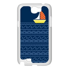 Sail the seven seas Samsung Galaxy Note 2 Case (White) by Contest1888822