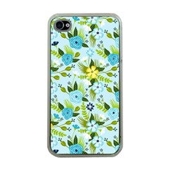 Flower Bucket Apple iPhone 4 Case (Clear) by Contest1888822